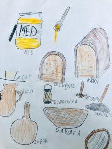 Avtor: Miha Pučko, Zajtrk